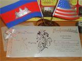 Khmer Invitation Wedding Khmer Wedding Invitation Cobypic Com