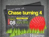 Kickball Birthday Party Invitations Kickball Birthday Invitation Kickball by Busybeeshappenings