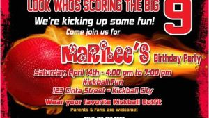 Kickball Birthday Party Invitations Kickball Birthday Invitation Printable File Diy Kickball