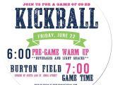 Kickball Birthday Party Invitations Kickball Cool Flyer Design Betty Pinterest the O