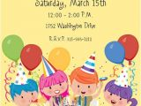 Kids Birthday Party Invitation Text Birthday Invitation Wording Ideas