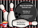 Kids Bowling Birthday Party Invitations Bowling Party Invitations Templates Ideas Bowling Party