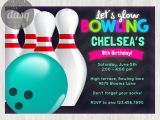 Kids Bowling Birthday Party Invitations Free Printable Bowling Birthday Invitations