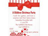 Kids Holiday Party Invitation Kid 39 S Christmas Party Invitation Zazzle