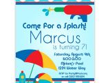 Kids Swimming Party Invitations Kids Pool Party Invites