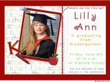 Kindergarten Graduation Invitation Ideas Kindergartin Graduation Invitation