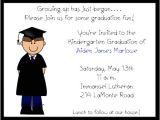 Kindergarten Graduation Invitation Wording Boy Preschoolkindergarten Graduation Invitations