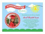 Kindergarten Graduation Invitation Wording Kindergarten Graduation Photo Invitation Zazzle