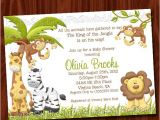 King Of the Jungle Baby Shower Invitations King Of the Jungle Baby Shower Invitation Printable