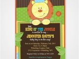 King Of the Jungle Baby Shower Invitations King Of the Jungle Printable Baby Shower or by
