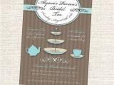 Kitchen Tea Party Invitation Ideas 25 Best Ideas About Kitchen Tea Invitations On Pinterest