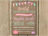 Kitchen Tea Party Invitation Ideas Items Similar to Bridal Shower Invitation Kitchen Tea