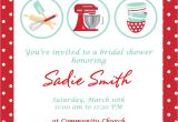 Kitchen themed Bridal Shower Invitations Bridal Shower Invitations Free Kitchen Bridal Shower