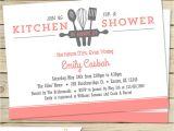 Kitchen themed Bridal Shower Invitations Kitchen Bridal Shower Invitation Customize Colors