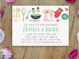 Kitchen themed Bridal Shower Invitations Kitchen Bridal Shower Invitation Printable by Karlykdesignshop
