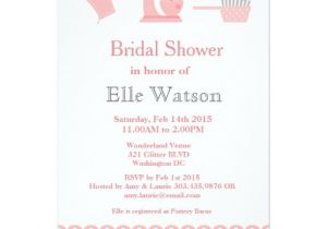 Kitchen themed Bridal Shower Invitations Kitchen themed Bridal Shower Invitations Custom Card Zazzle