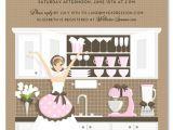 Kitchen themed Bridal Shower Invites Kitchen Bridal Shower theme