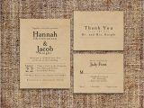 Kraft Paper Wedding Invitation Kit Wedding Invitation Set Deposit Printable Custom Diy
