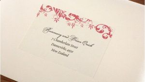 Labels for Addressing Wedding Invitations Address Labels for Wedding Invitation Envelopes