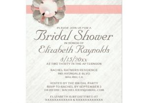 Lace and Pearls Bridal Shower Invitations Antique Lace and Pearl Bridal Shower Invitations