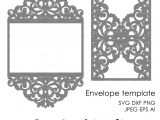 Lace Wedding Invitation Template Wedding Invitation Pattern Card Template Lace by