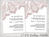 Lace Wedding Invitation Template Wedding Invitation Template Antique Lace by