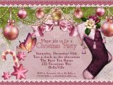 Ladies Christmas Party Invitations Christmas Party Invitation Victorian Christmas Card Ladies