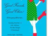 Ladies Christmas Party Invitations Ladies Holiday Invitations Mingle Belles Invitation 18150