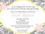 Ladies Only Baby Shower Invitation Wording La S Ly Baby Shower Invitation Wording