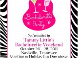 Ladies Only Party Invitation Wording Birthday Invites Card Design Bachelorette Party Invite