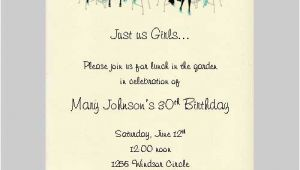 Ladies Only Party Invitation Wording Ladies Party Invitation Wording Safero Adways