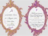 Ladies Tea Party Invitations 8 Tea Party Invitations Psd Ai Free Premium Templates