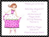 Ladies Tea Party Invitations Ladies Tea Party Invitations Oxsvitation Com