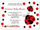 Ladybug Baby Shower Invitations Cheap Cheap Ladybug Baby Shower Invitations Ladybug Baby Shower