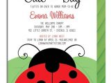 Ladybug Baby Shower Invites Ladybug Baby Shower Invitation – Gangcraft