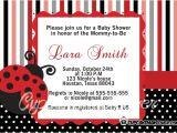 Ladybug themed Baby Shower Invitations Ladybug Baby Shower Invitations Archives Cupcakemakeover