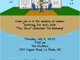 Lake Party Invitation Templates Free Hand Drawn Lake House Party Invitation L Pj Greetings