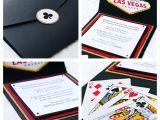 Las Vegas themed Birthday Invitations bytanja — Las Vegas theme Invitations