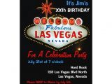 Las Vegas themed Birthday Party Invitations Birthday Party Las Vegas Party Invitations