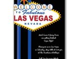 Las Vegas themed Birthday Party Invitations Vegas Party Invitations