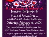 Las Vegas themed Bridal Shower Invitations Las Vegas Casino theme Bridal Shower Personalized Invites