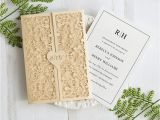 Laser Cut Wedding Invitations Near Me Gold Wedding Invitations Image Collections Wedding Dress