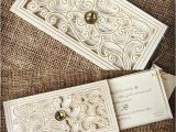 Laser Cut Wedding Invitations Near Me Laser Cut Wedding Invitations Graceful Metallic Gold Laser
