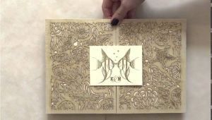 Laser Cut Wedding Invitations Nyc Luxury Coral Laser Cut Wedding Invitation by Ceci New York
