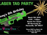 Laser Tag Party Invitations Free Laser Tag Birthday Party Invitations Template Free
