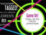 Laser Tag Party Invitations Free Laser Tag Party Invitations Template Free Cimvitation