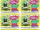 Launch Trampoline Park Birthday Invitations Printable Invites