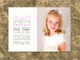 Lds Baptism Invitation Wording Lds Baptism S with Sayings