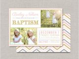 Lds Baptism Invite Lds Baptism Invitation Bailey