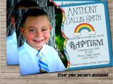 Lds Baptism Invite Wording Lds Baptism Announcement or Invitation with 2